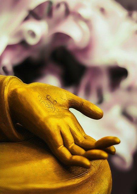 Main de buddha